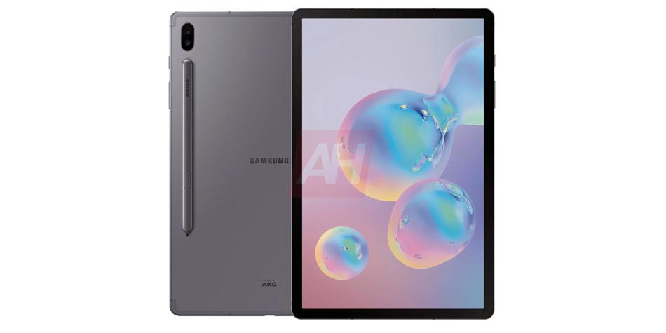 Así será la nueva Samsung Galaxy Tab S6, la tablet que tendrá un lápiz óptico imantado. (Foto: Android Headlines)