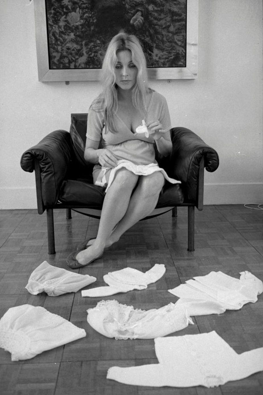 Sharon Tate se encontraba embarazada de ocho meses y medio cuando ocurrió su asesinato. (Foto: Terry O'Neill/Iconic Images)