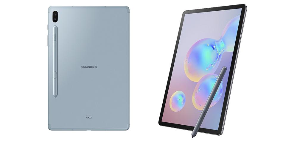 Así luce la nueva Samsung Galaxy Tab S6, la primera tableta en contar con desbloqueo mediante huella dactilar en la pantalla. (Foto: Samsung)