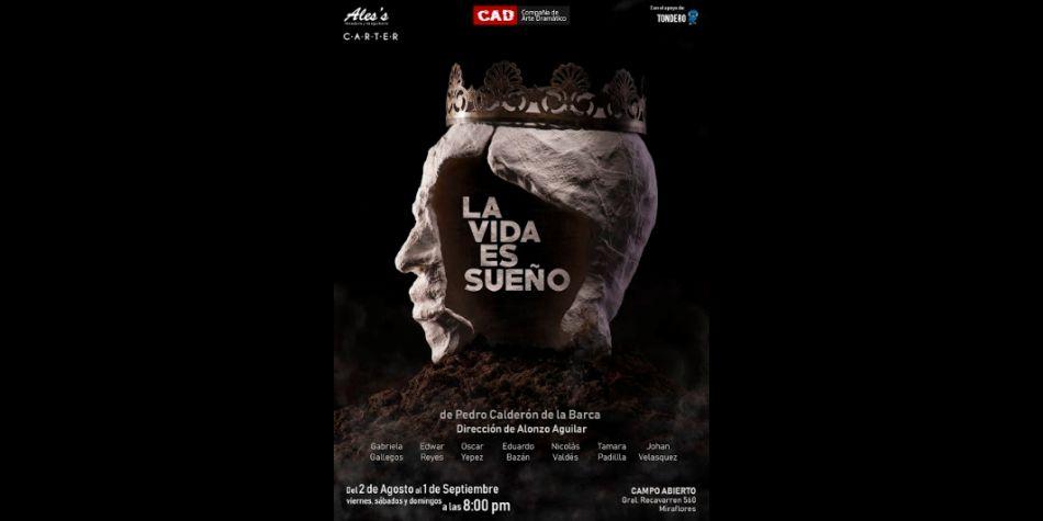 La vida es sueño nos cuenta la historia del príncipe Segismundo.  (Foto: Compañía de Arte Dramático)