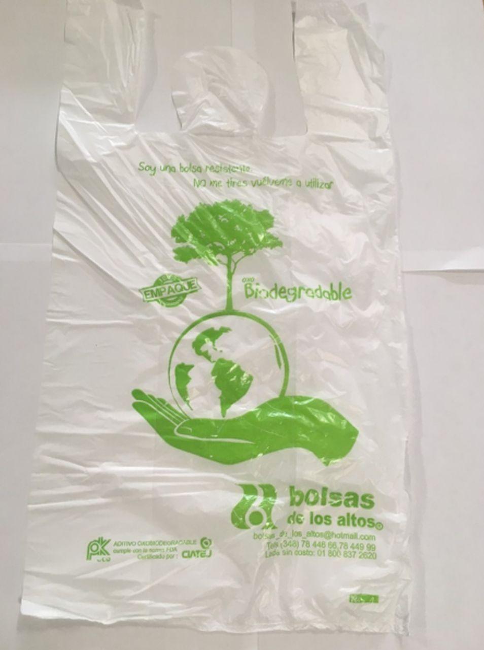 Estas bolsas son iguales a las bolsas tradicionales. (Foto: delenewsonline.com)
