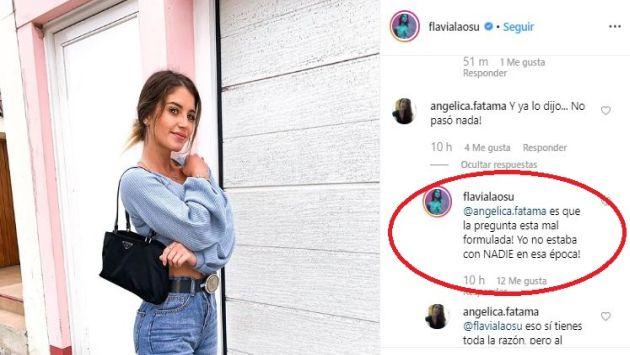 Esto dijo Flavia Laos sobre un supuesto coqueteó con Greg Michel cuando ella ya estaba con Patricio Parodi. (Imagen: Instagram flavialaosu)