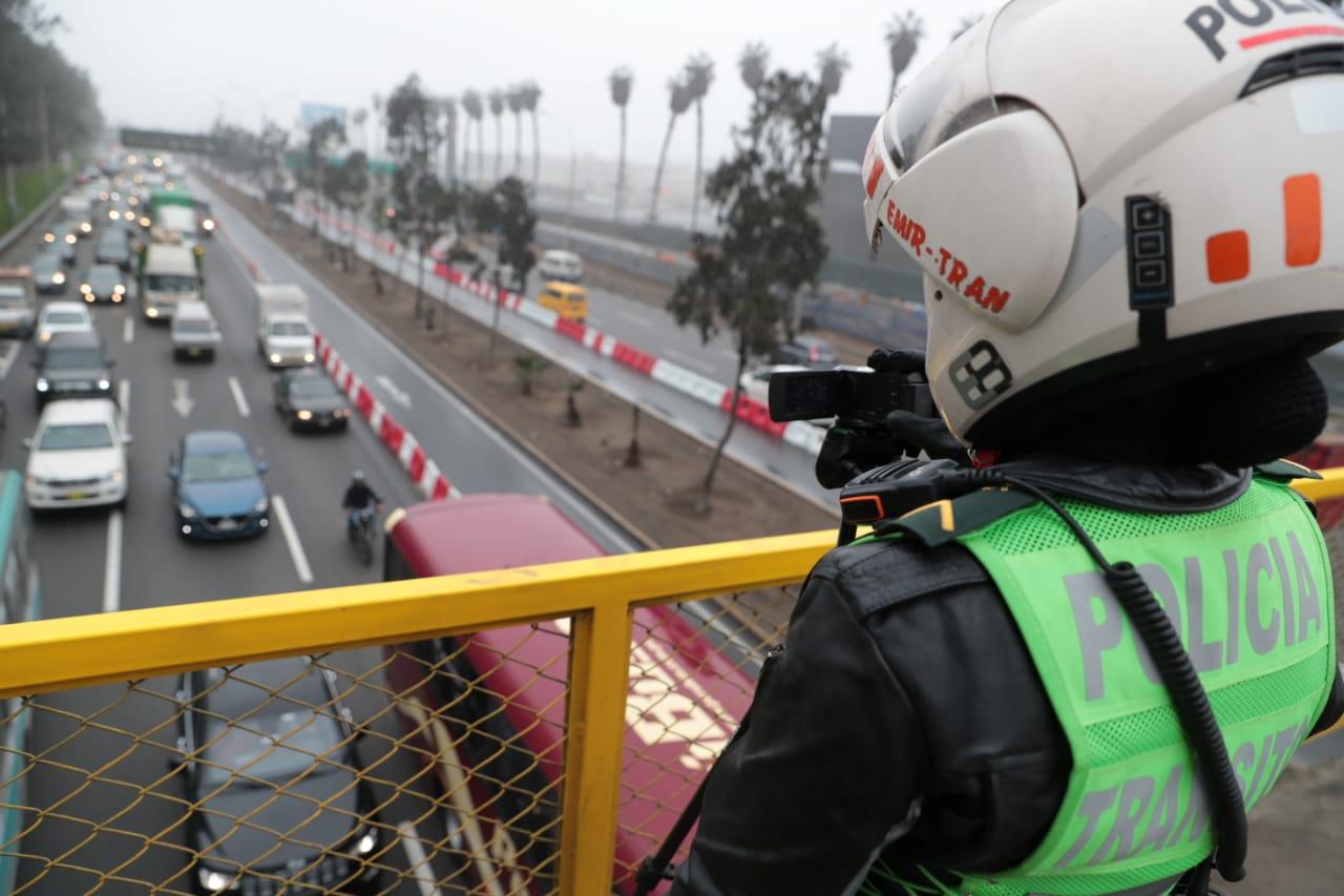La restricción vehicular se aplica en el marco de los Juegos Panamericanos Lima 2019. (Foto: GEC)