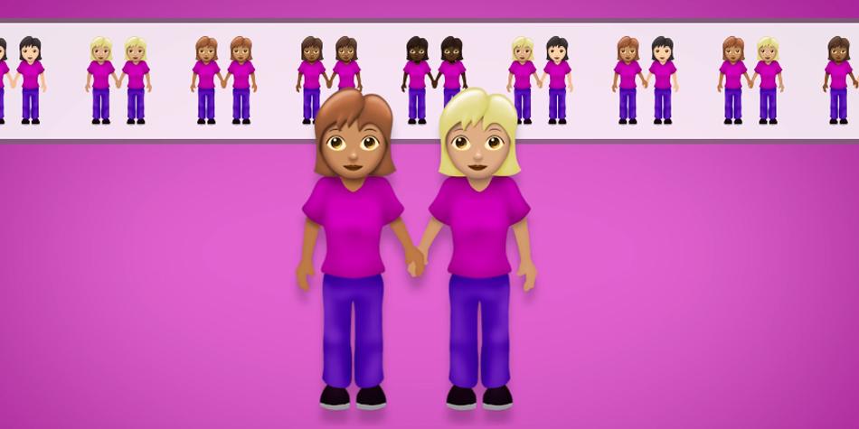 También llegarán en la categoría de familia los emojis de parejas del mismo sexo y diversidad racial. (Foto: Emojipedia)