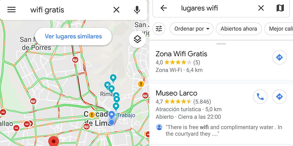 ¿Quieres tener wifi gratis? Entonce ubícalos rápidamente gracias a este mapa de Google Maps. (Foto: Google)