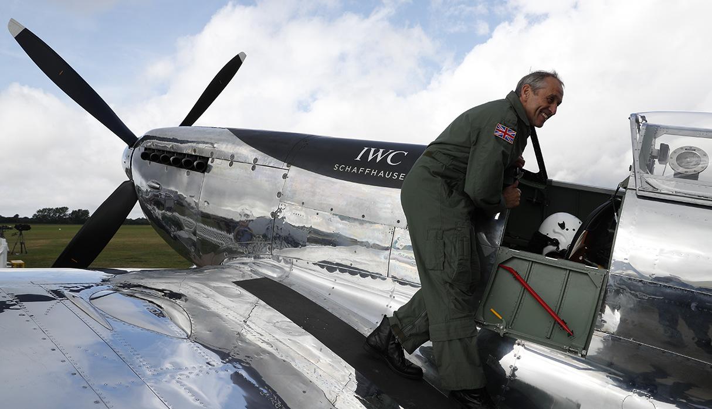 Es un caza británico que fue vital para la victoria en la Segunda Guerra Mundial. (Foto: AFP)