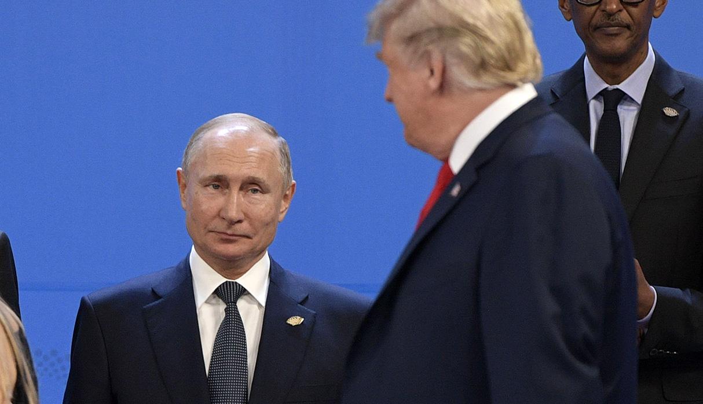 Putin instó a Trump a reconsiderar su decisión unilateral de abandonar el pacto de eliminación de misiles de corto y medio alcance. (Foto: AFP)