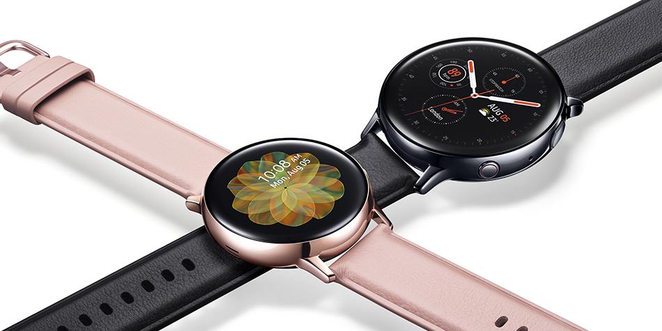 El Galaxy Watch Active 2 llegará en dos versión, una de aluminio y otra en metal. Asimismo variará en tamaño. (Foto: Samsung)