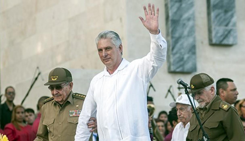 Miguel Díaz-Canel cree que la acción de Estados Unidos contra Venezuela es producto de su  frustración por el valor y la resistencia de la