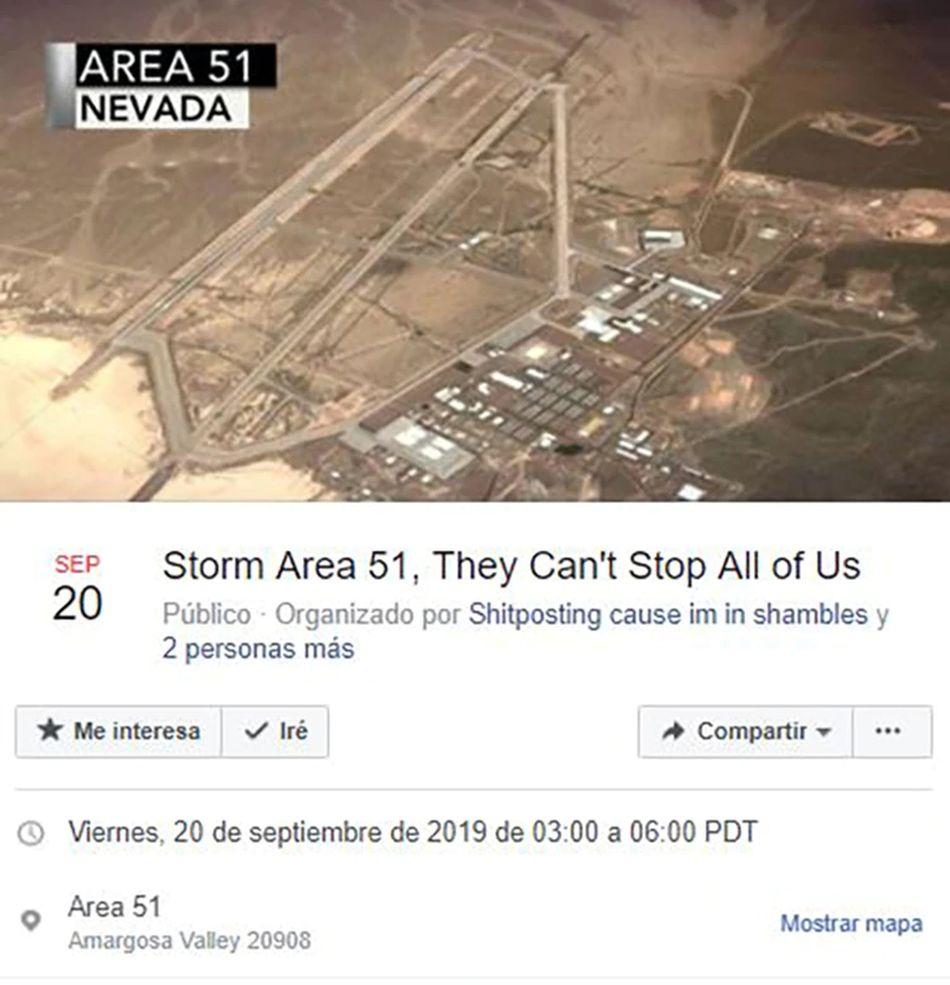 Evento de Facebook para