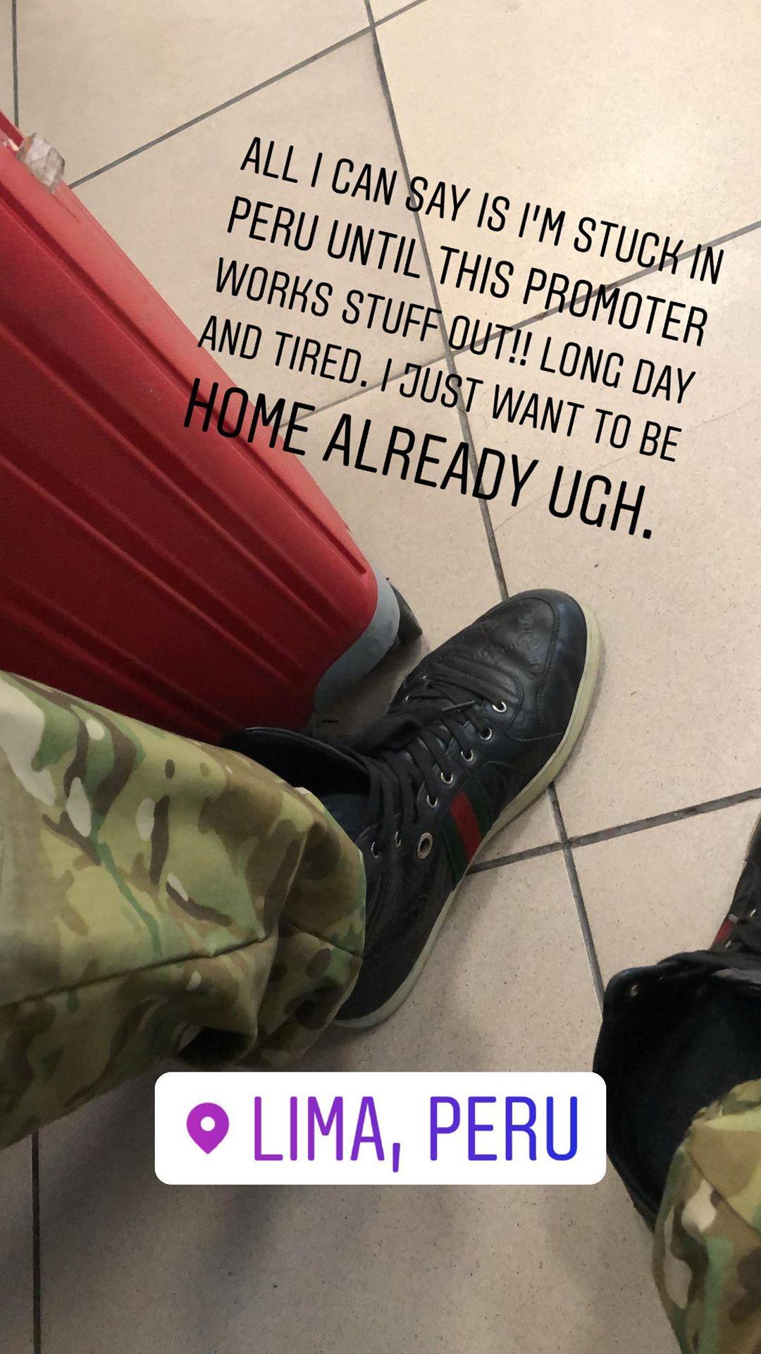 Jason David Frank, el recordado Power Ranger verde, fue retenido en el Aeropuerto Jorge Chávez (Foto:@jdfffn)