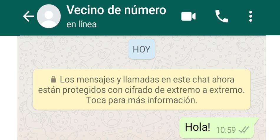 Conoce todos los pasos para que nunca te escriba tu 'vecino de número' en WhatsApp. (Foto: Google)