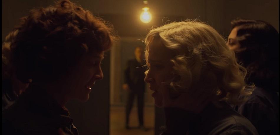 Oscar y Carlota se reencontraron  (Foto: Netflix)