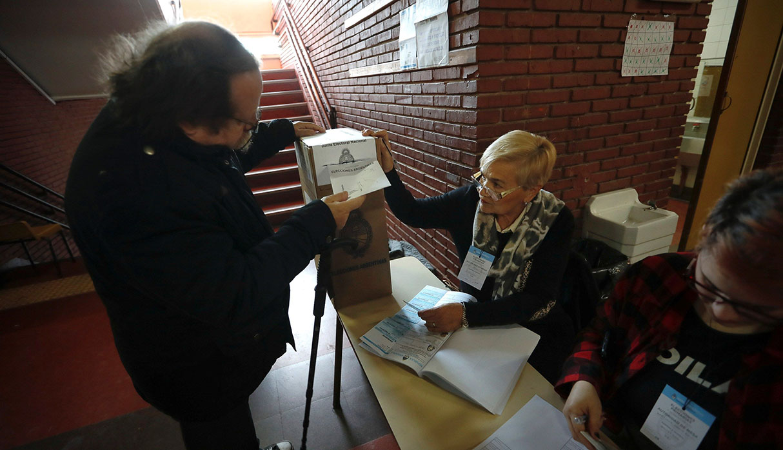 Argentina vive este domingo una jornada democrática. (Foto: EFE)