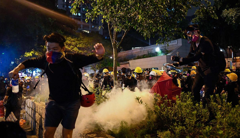 Hong Kong vive intensas jornadas de protestas. (Foto: AFP)