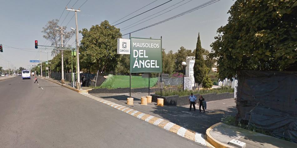 El cementerio se encuentra en la avenida del Imán, en la ciudad de México D.F. ¿Lo sabías? (Foto: Google)
