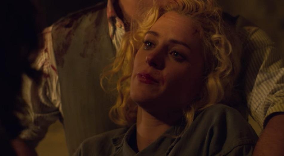 Ángeles se despide de sus amigas y les pide que cuiden de su hija (Foto: Las chicas del cable / Netflix)