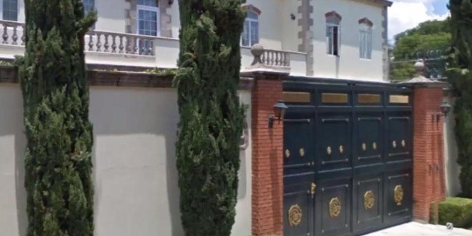 Así luce la mansión donde se grabó