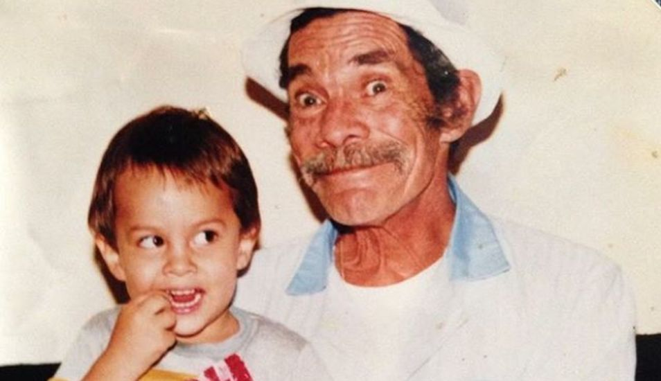 Ramón Valdés era un padre amoroso, aunque un poco renegón. (Foto: Instagram Miguel Valdés)