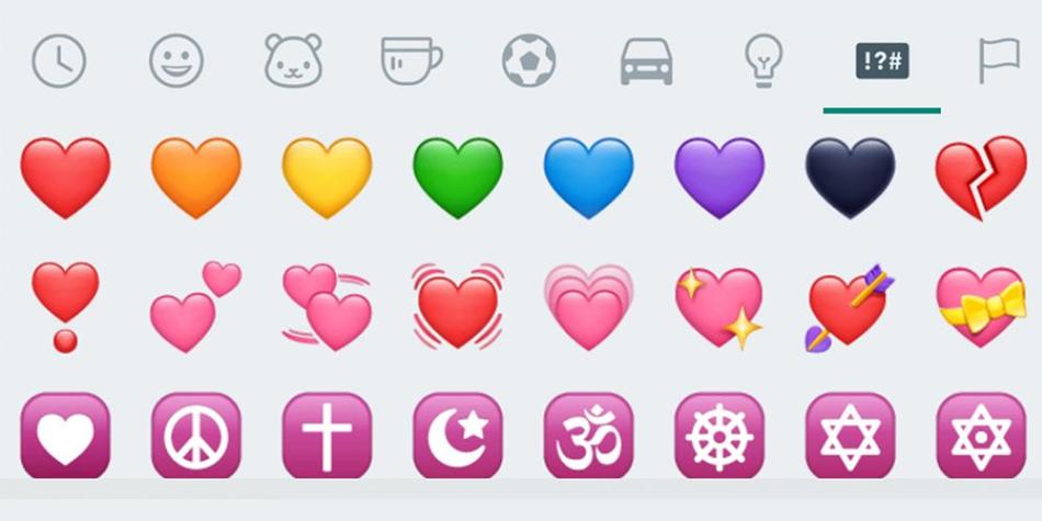¿Sabías el significado real del corazón azul de WhatsApp? Emojipedia te dice en qué situaciones enviarlo. (Foto: WhatsApp)