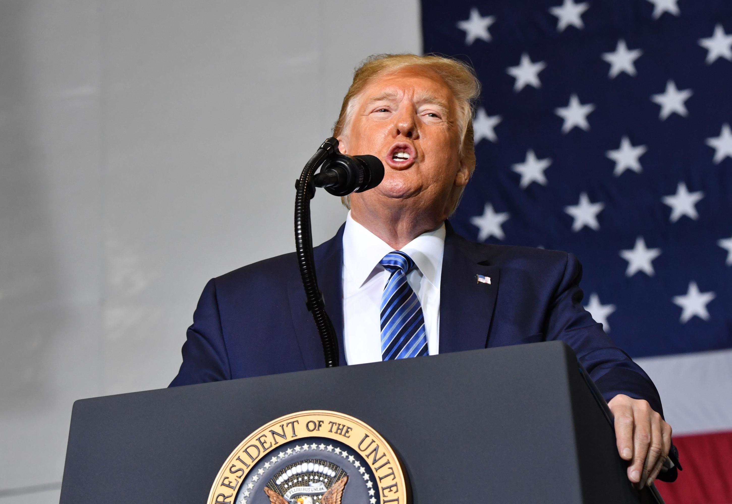 Donald Trump, presidente de Estados Unidos, podría acceder al pedido de la nueva gobernadora de Puerto Rico (Foto: AFP)