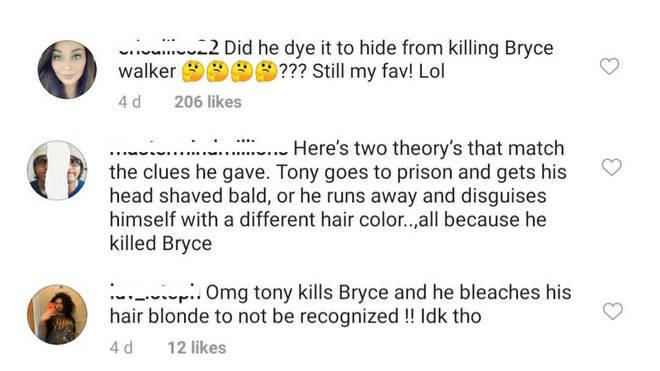 Teorías de los fans sobre la muerte de Bryce Walker (Foto: Instagram)