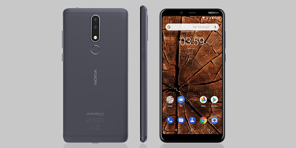 Conoce las características del Nokia 3.1 Plus, el dispositivo que ha sido lanzado en nuestro país. (Foto: Nokia)