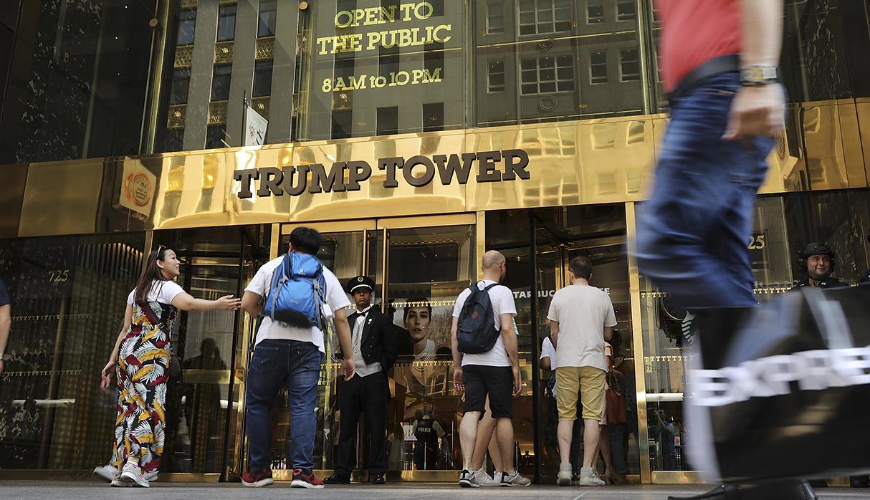 La Trump Tower, en Manhattan, propiedad del presidente de Estados Unidos, Donald Trump. (Foto: AFP/archivo)