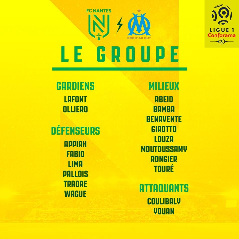 Cristian Benavente podría debutar en la Ligue 1 de Francia. (Foto: FC Nantes)