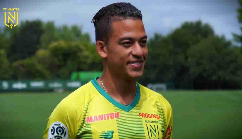 Cristian Benavente podría tener sus primeros minutos este sábado en la Ligue 1. (Foto. FC Nantes)