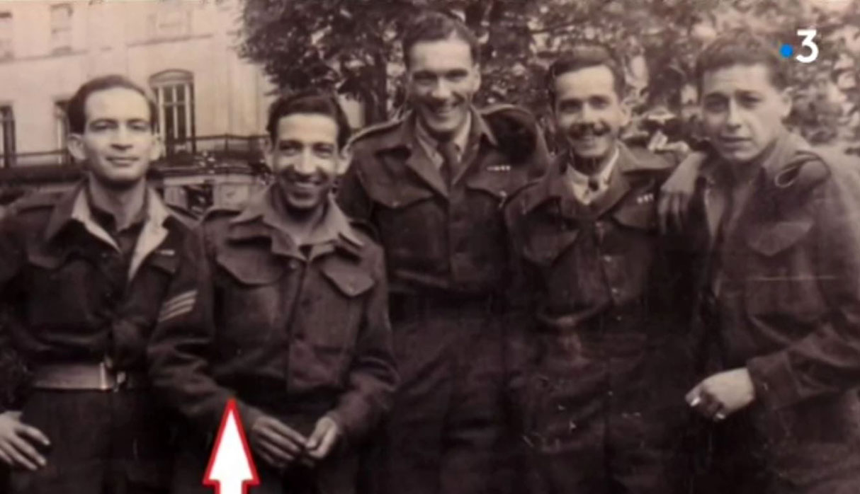 Jorge Sanjinez junto a sus compañeros de batalla. (Foto: Captura)