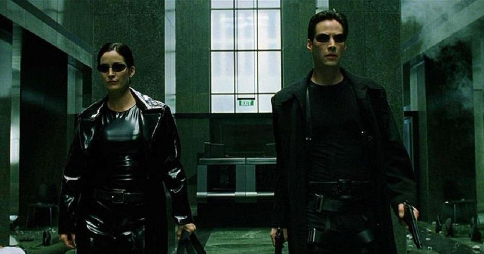 Keanu Reeves y Carrie-Anne Moss fueron los protagonistas de The Matrix Revolutions (Foto: Warner Bros.)