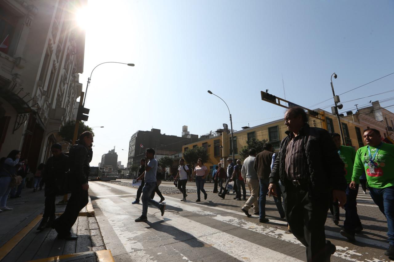 Lo más probable es que este ligero brillo solar continúe en los próximos días. (Foto: Manuel Melgar/ GEC)