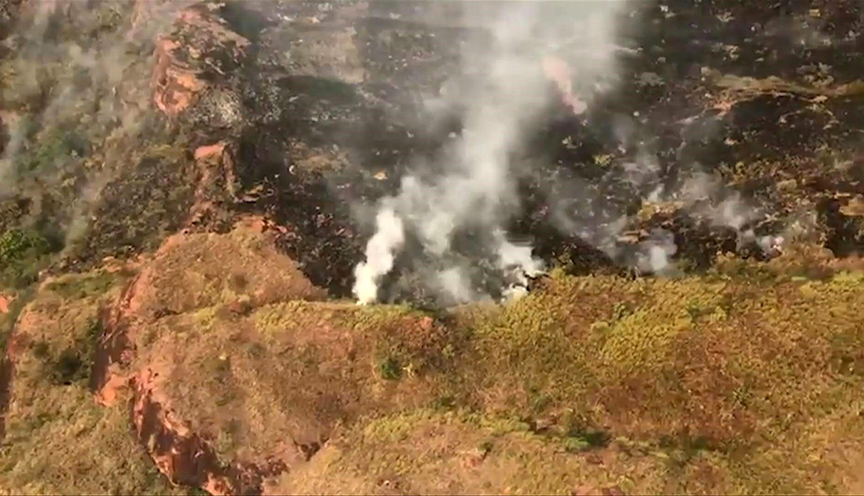 El presidente de Brasil, Jair Bolsonaro, acusa de los incendios en la Amazonía a las ONG. (Foto: AFP)