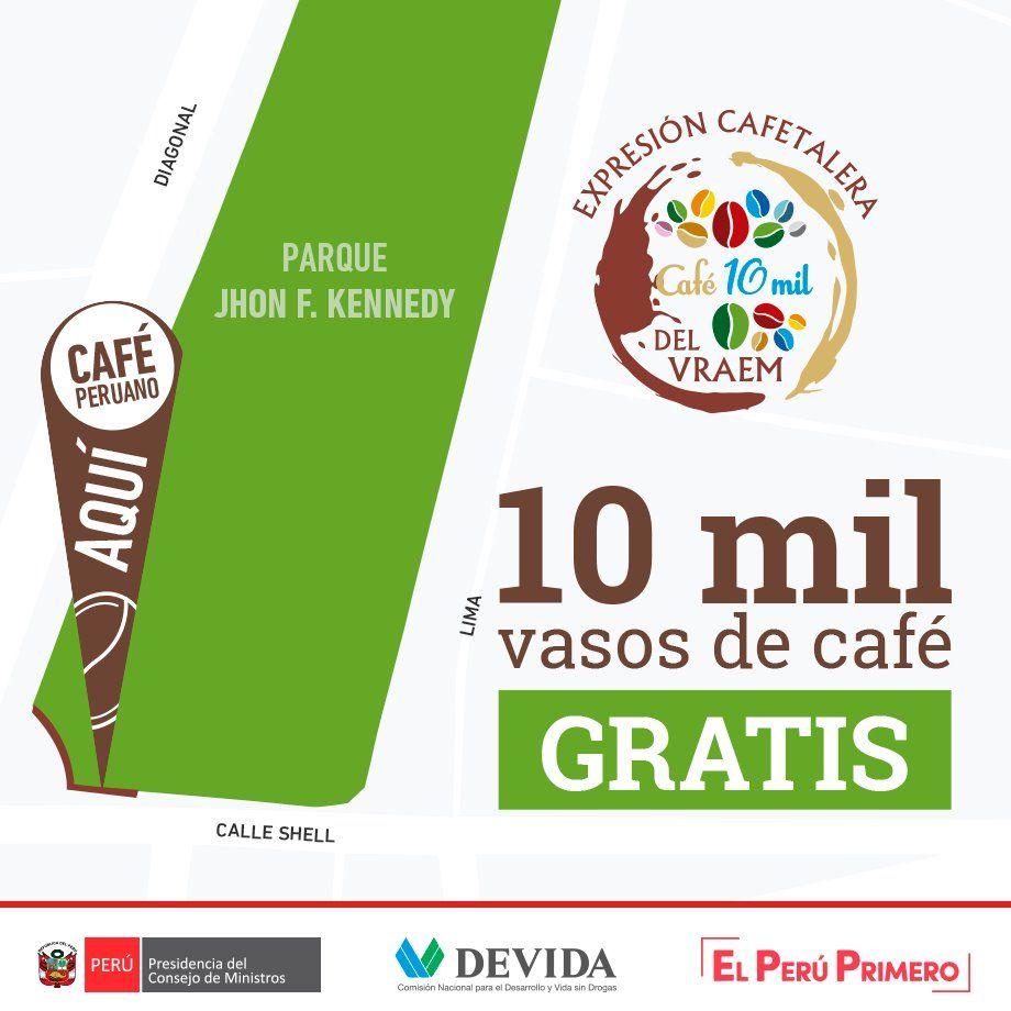 Los asistentes a la actividad podrán comprar productos de café a precios de oferta. (Devida)