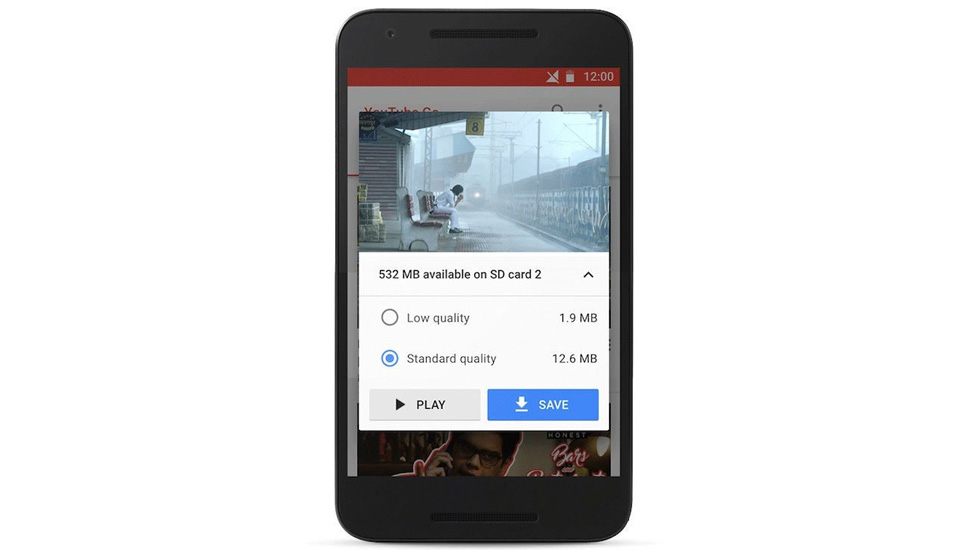 A través de YouTube Go, la versión ligera de la app de Google, podrás guardar tus videos en el celular o en tu microSD. (Foto: YouTube)