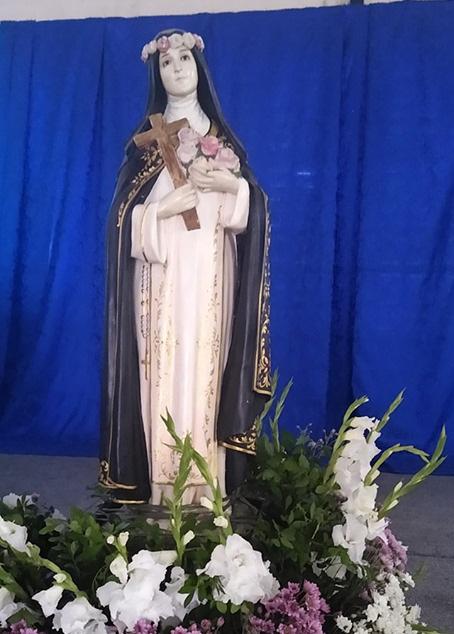 Imagen de Santa Rosa de Lima, en la iglesia del municipio que lleva el mismo nombre, en el estado brasileño de Sergipe. (Foto: Facebook Parroquia Santa Rosa de Lima-Sergipe-Brasil)