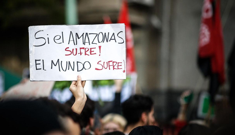 Buenos Aires también alzó su voz de protesta. (Foto: EFE)