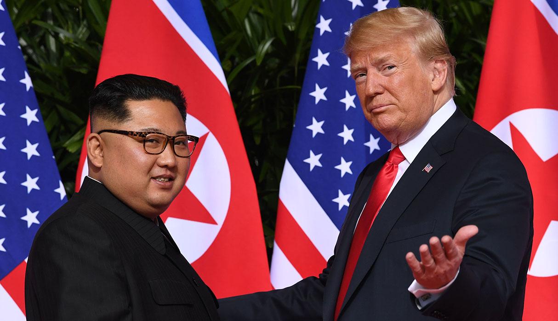 Kim Jong-un y Donald Trump han desarrollado una gran amistad. (Foto: AFP)