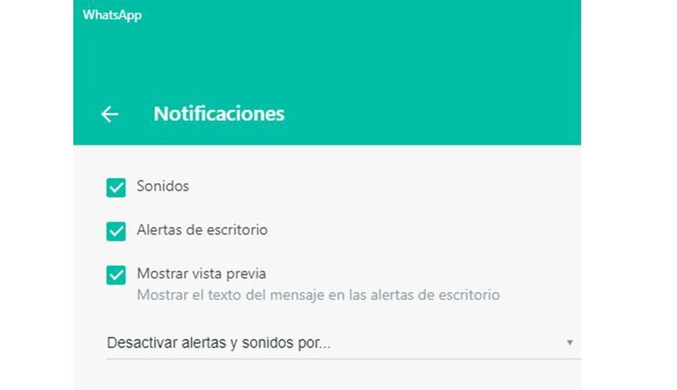 ¿Te ha molestado el sonido de WhatsApp Web? Aprende cómo configurar la aplicación para dejarlo de escuchar. (Foto: WhatsApp)