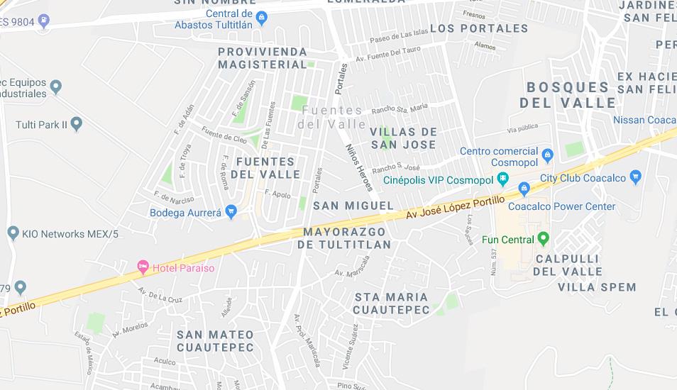 El canino fue ubicado en México, específicamente en la calle F. de Minos, y puedes chequearlo en Google Maps. (Foto: Google)