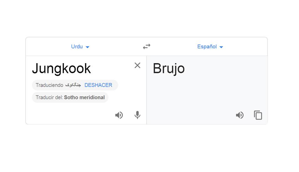 Google Traductor dice que el nombre de Jungkook, de los BTS, significa en realidad