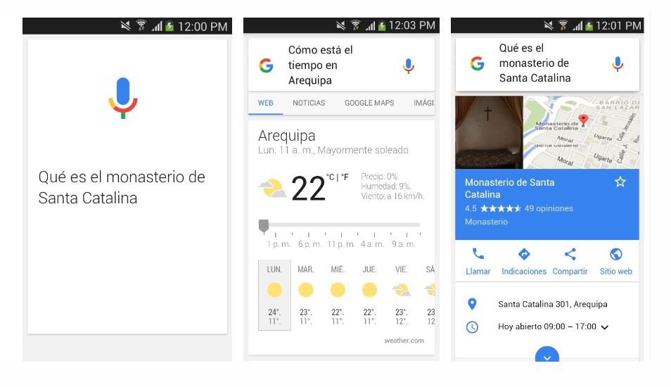 A través del asistente de Google puedes visualizar el estado del tiempo, qué ruta tomar y hasta enviar un mensaje. (Foto: Google)