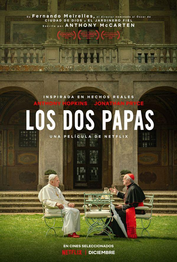 Netflix lanza tráiler y anuncia la fecha de estreno de la película sobre los papas Francisco y Benedicto XVI. (Foto: Netflix)