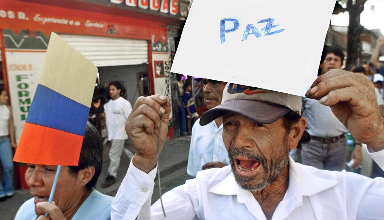 Deseo de todo el pueblo colombiano. (Foto: AFP)