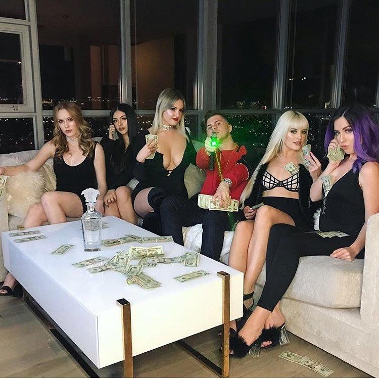 Wyatt Pasek presumía su vida de lujos en redes sociales. (Instagram | yung10x)