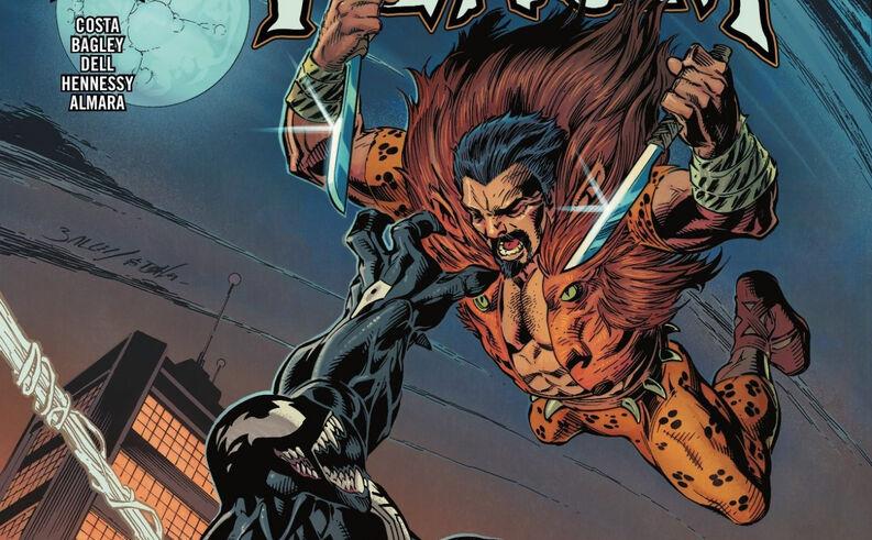 Kraven The Hunter podría ser un villano en común para la unión de Venom y Spider-Man (Foto: Marvel Comics)