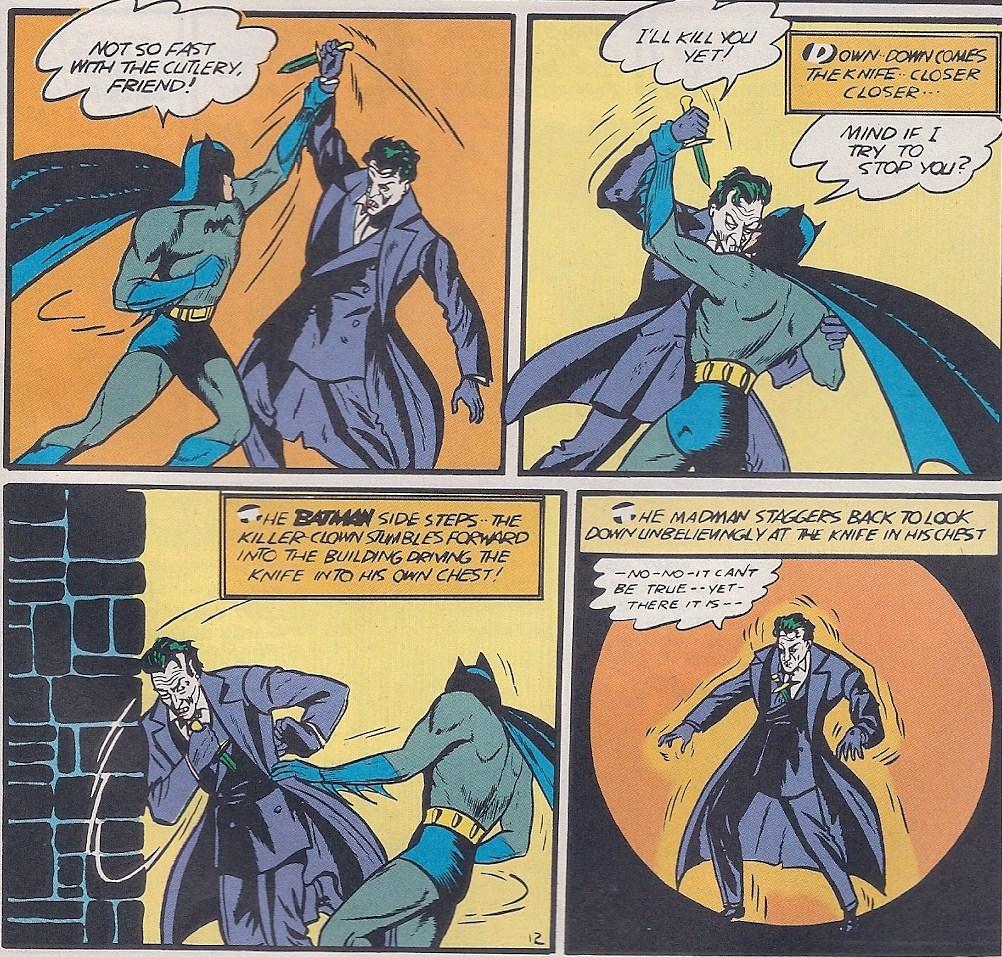 Joker iba a morir en Batman #1, pero fue salvado poco después (Foto: DC Comics)