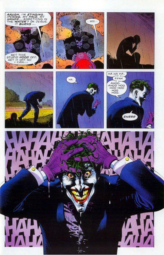 El nacimiento del Joker en
