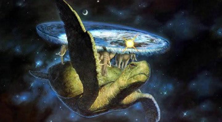 Maturin, la tortuga cósmica tiene una inspiración de Gran A'Tuin, parte del Mundodisco creado por Terry Pratchett que a su vez se origina de la mitología hindú (Foto: Pinterest)